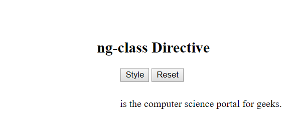 ngclass