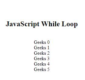 JavaScript while循环语句例子详细指南2