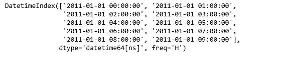 Python使用Pandas处理日期和时间1