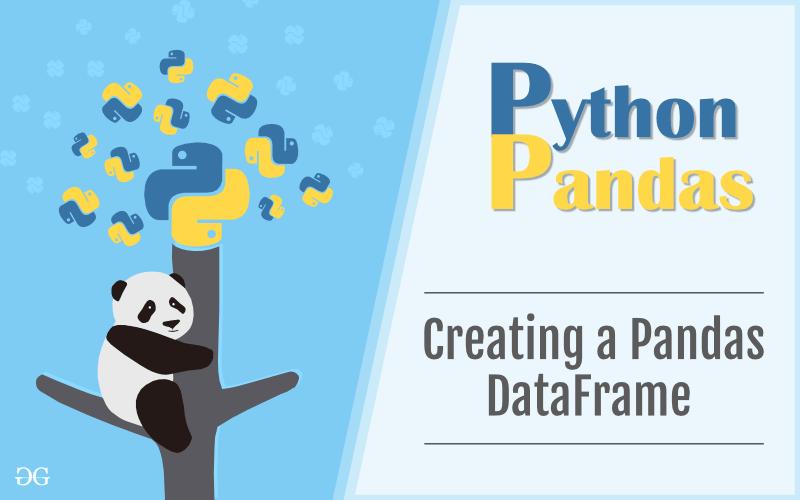 创建一个Pandas DataFrame1
