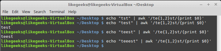 Linix Shell正则表达式教程:Sed和AWK用法示例